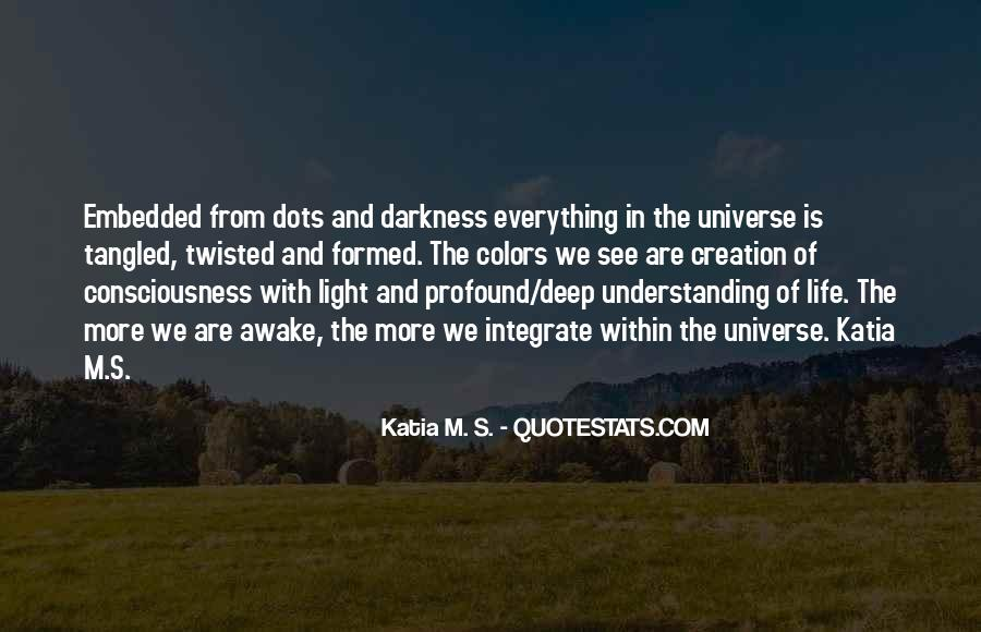 Quotes About Light And Darkness In Life #378093