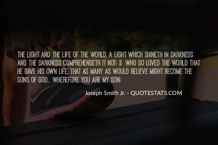 Quotes About Light And Darkness In Life #437131