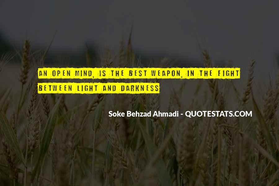 Quotes About Light And Darkness In Life #842694