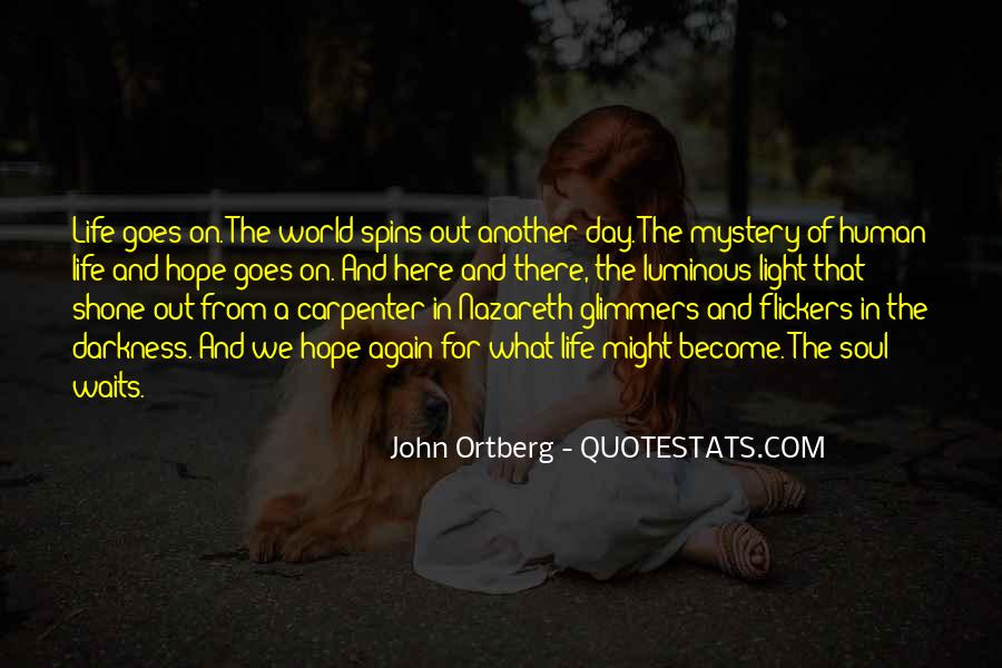 Quotes About Light And Darkness In Life #958196