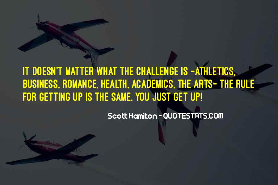 Quotes About Athletics And Academics #365147