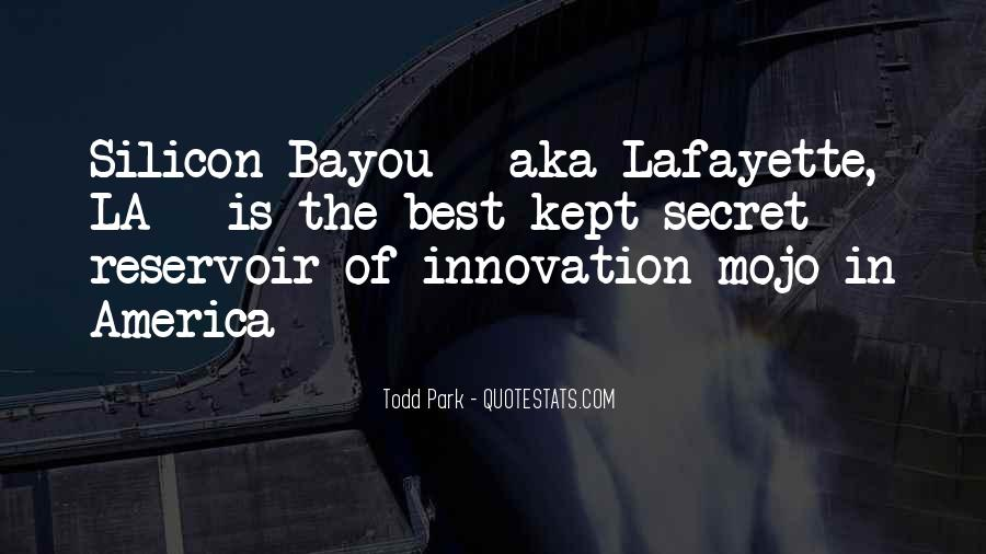 Quotes About Lafayette #303912