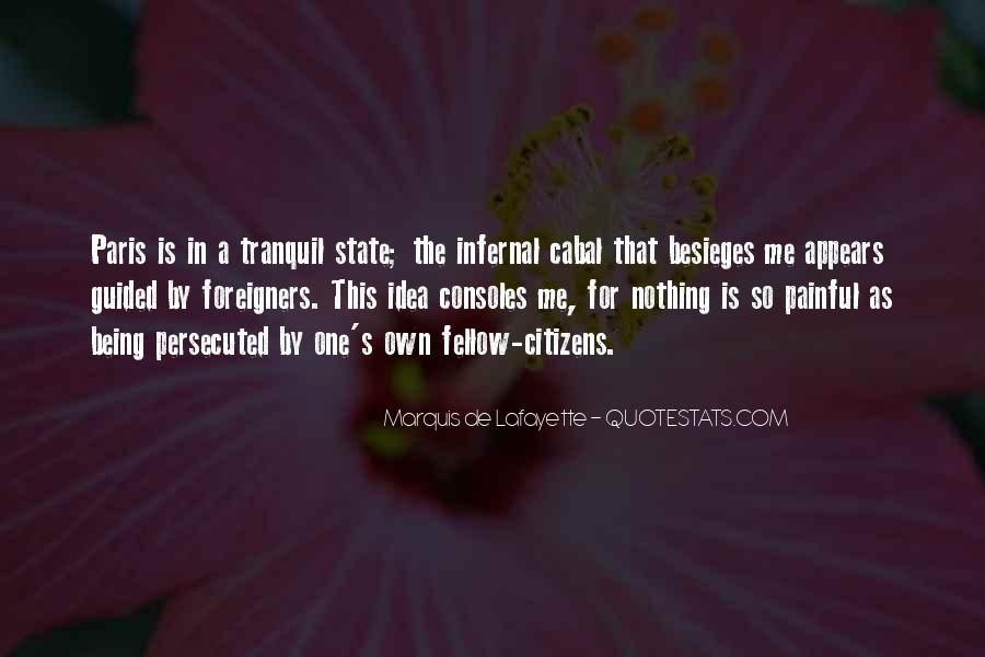 Quotes About Lafayette #317274