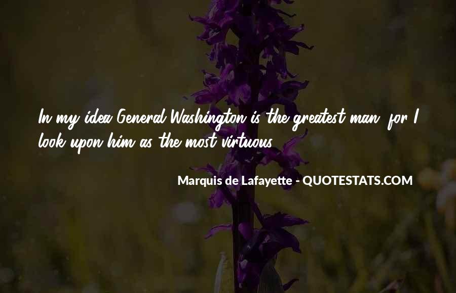 Quotes About Lafayette #396638