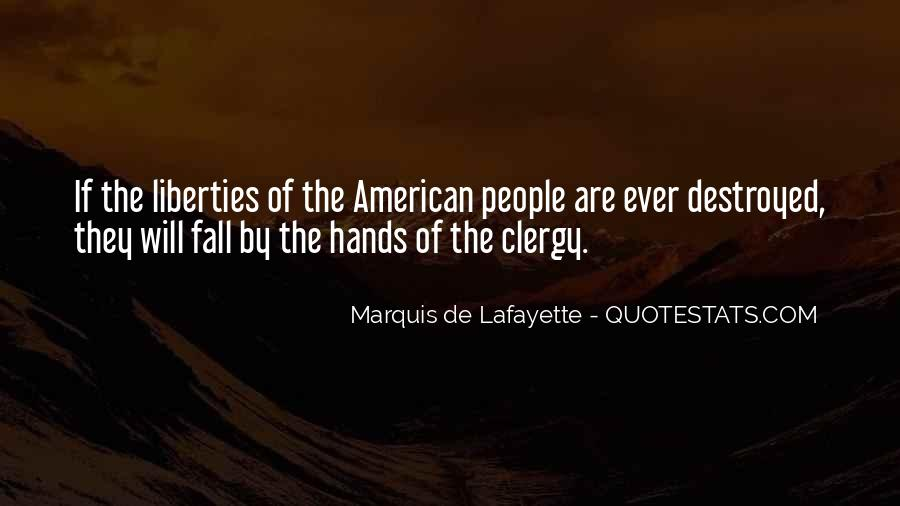 Quotes About Lafayette #71098