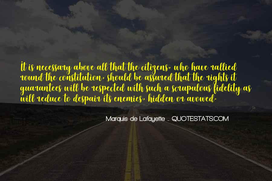 Quotes About Lafayette #936909
