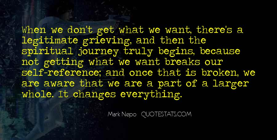 Quotes About Journey Begins #1020805