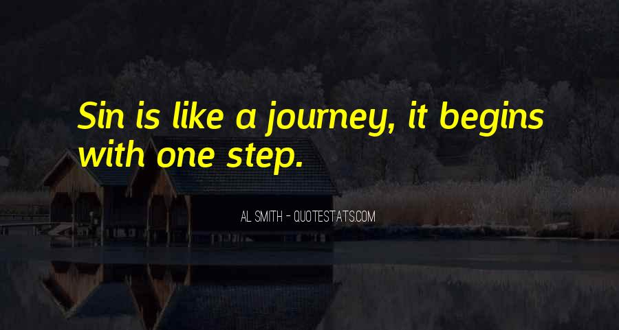 Quotes About Journey Begins #1351831