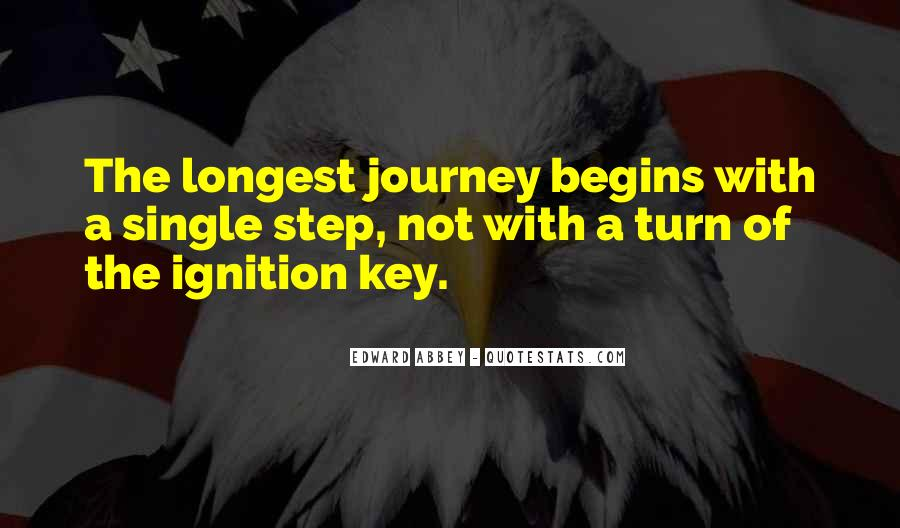 Quotes About Journey Begins #1367781