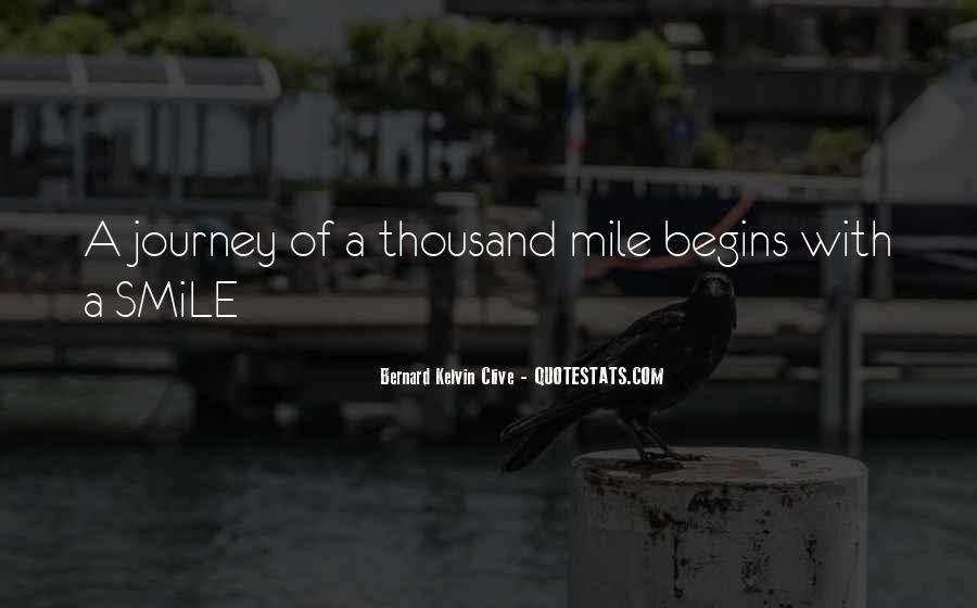 Quotes About Journey Begins #1507236