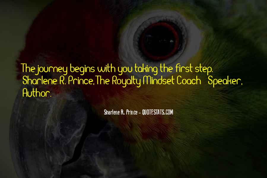 Quotes About Journey Begins #406261