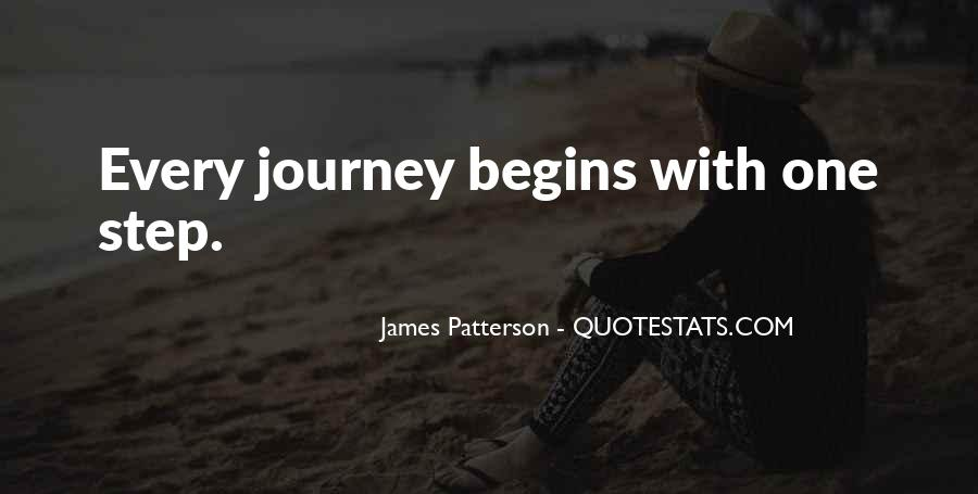 Quotes About Journey Begins #558764