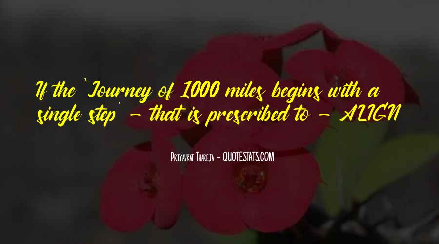 Quotes About Journey Begins #661985