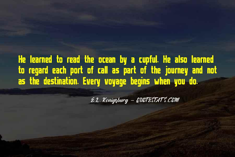 Quotes About Journey Begins #902957