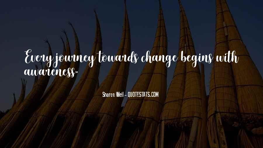 Quotes About Journey Begins #921646
