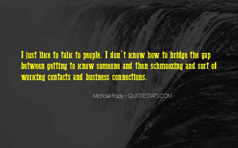 Quotes About Connections In Business #1698515