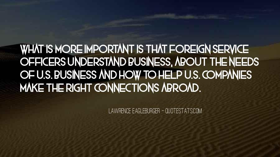Quotes About Connections In Business #452486