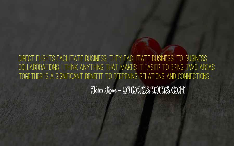 Quotes About Connections In Business #479835