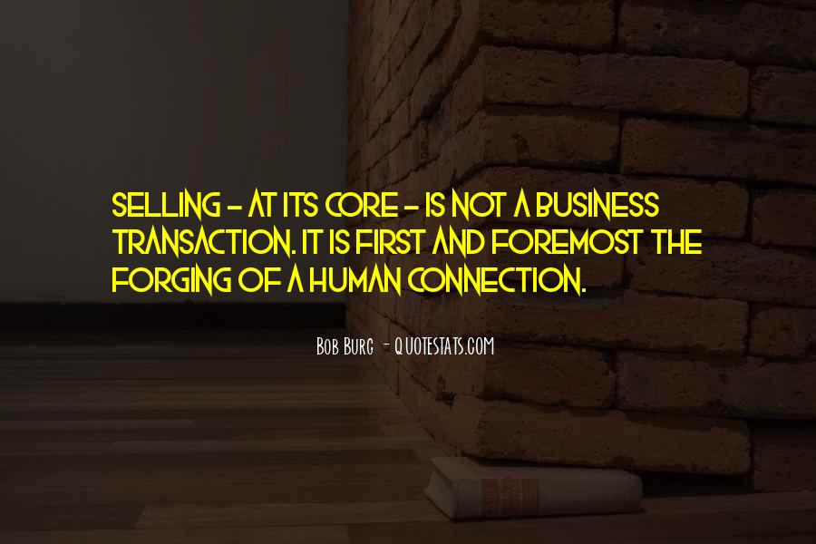 Quotes About Connections In Business #644409