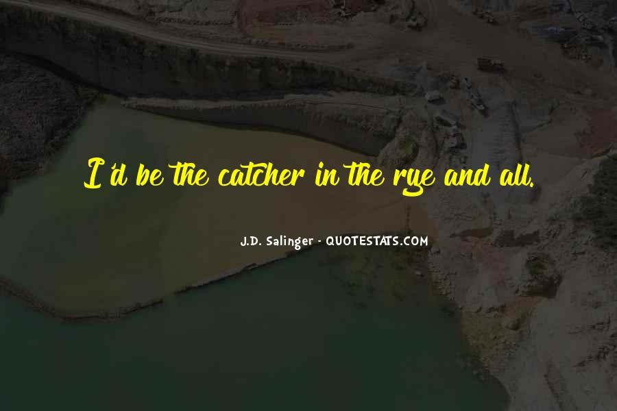 Quotes About D.b. In The Catcher In The Rye #1236181