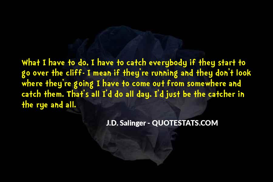 Quotes About D.b. In The Catcher In The Rye #1476199