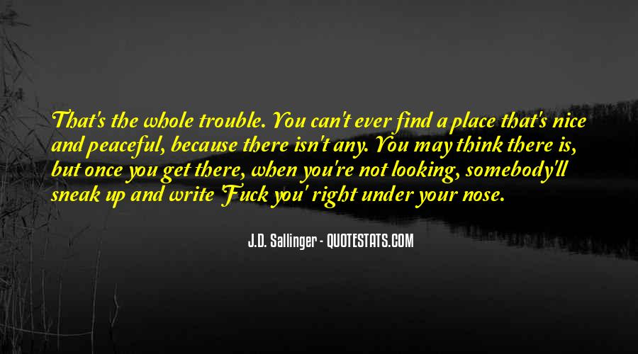 Quotes About D.b. In The Catcher In The Rye #164547