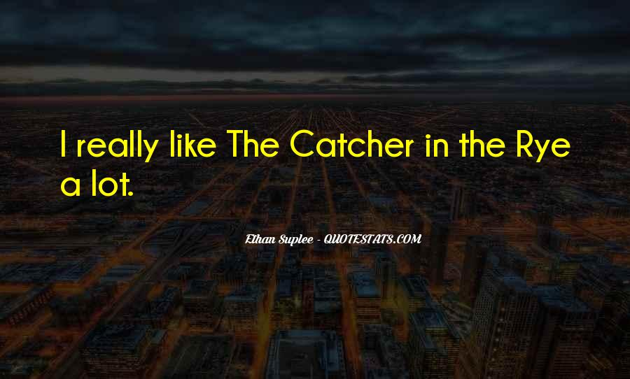 Quotes About D.b. In The Catcher In The Rye #16779