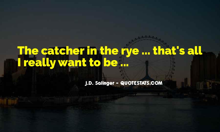 Quotes About D.b. In The Catcher In The Rye #413183