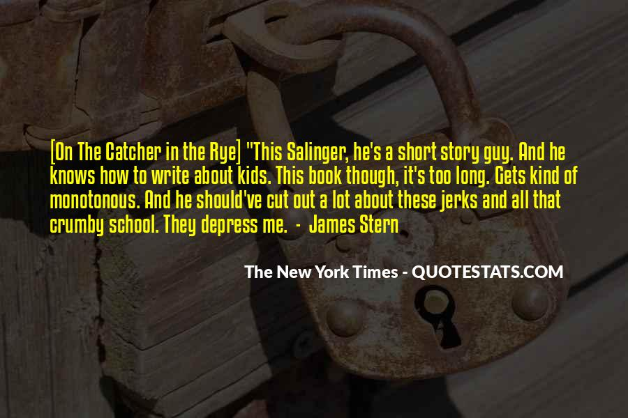 Quotes About D.b. In The Catcher In The Rye #441861