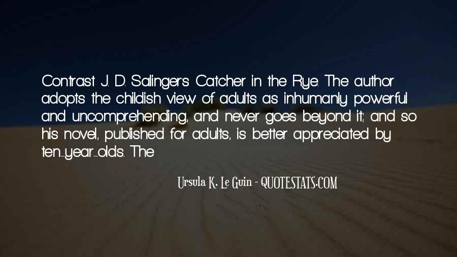 Quotes About D.b. In The Catcher In The Rye #691716