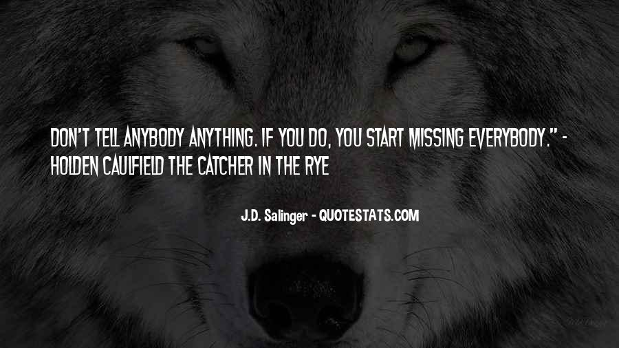 Quotes About D.b. In The Catcher In The Rye #80886