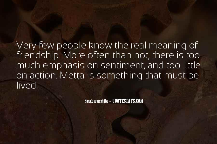 Quotes About Friendship With Meaning #426166
