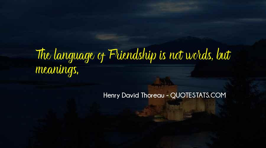 Quotes About Friendship With Meaning #831847
