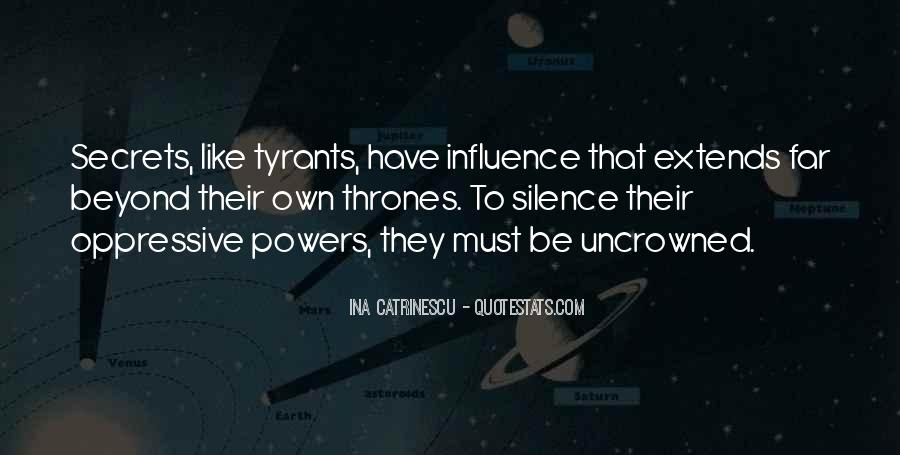 Quotes About Tyrants #103959
