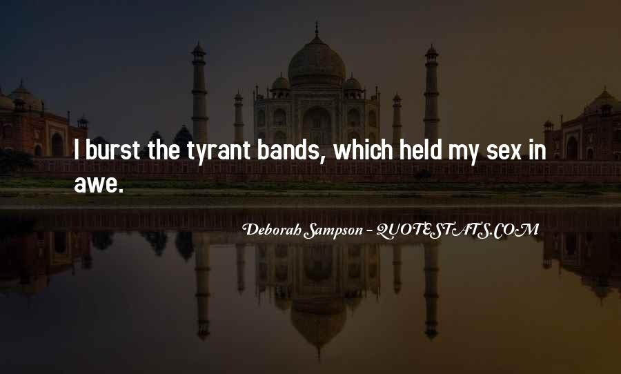 Quotes About Tyrants #138583