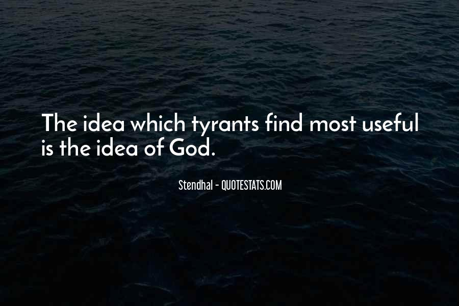 Quotes About Tyrants #163309