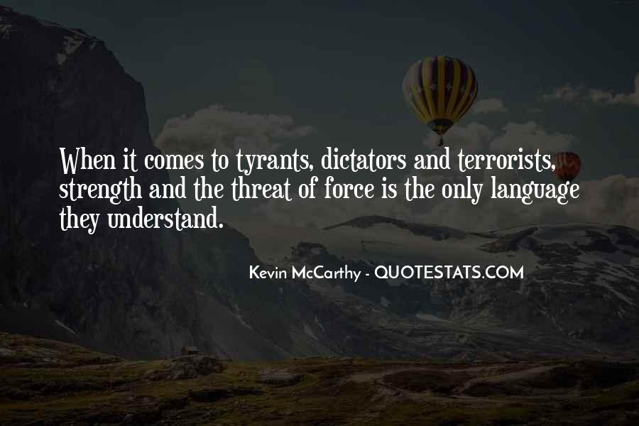 Quotes About Tyrants #224891