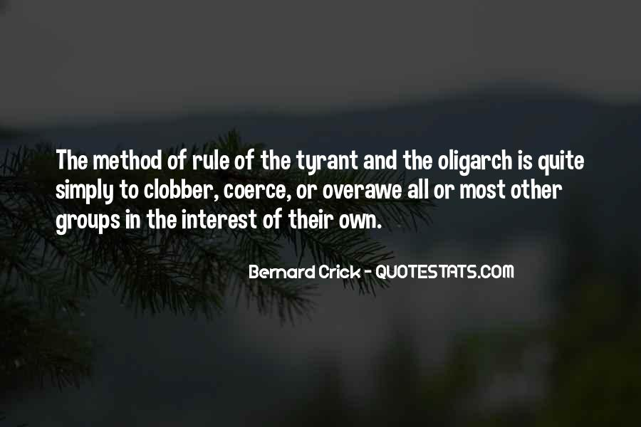 Quotes About Tyrants #284031