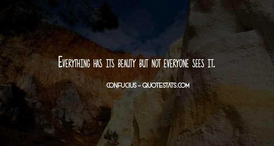 Quotes About Beauty Confucius #1328019