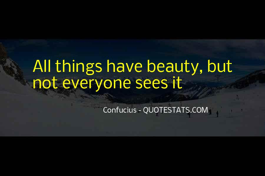 Quotes About Beauty Confucius #1438084