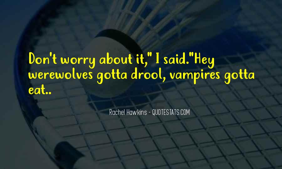 Quotes About Werewolves #141159