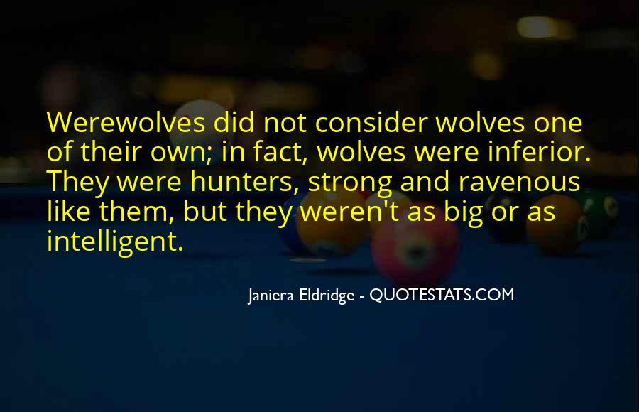 Quotes About Werewolves #199215