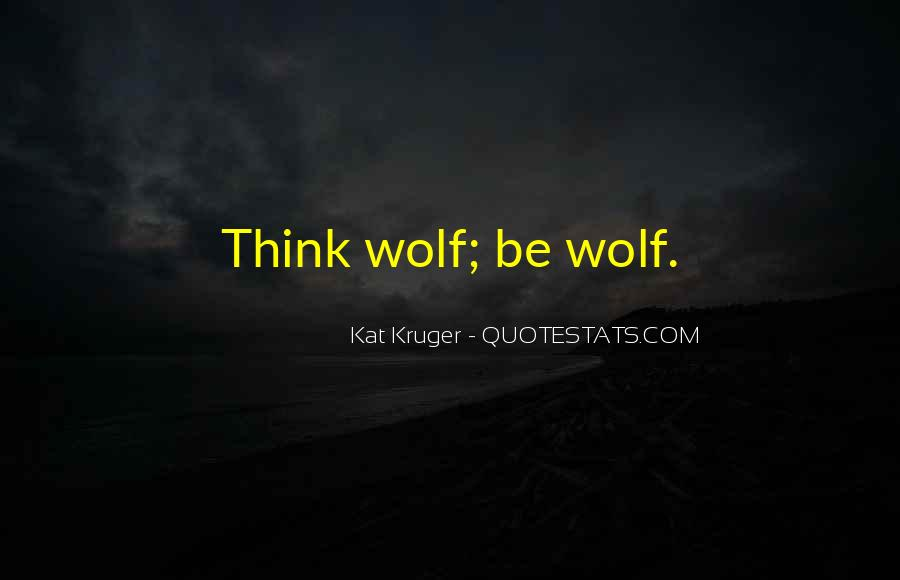 Quotes About Werewolves #231125