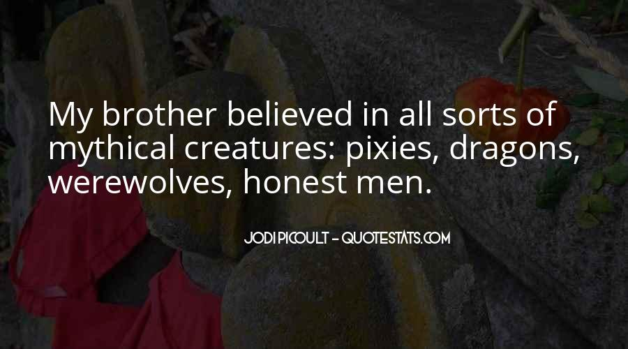 Quotes About Werewolves #266978
