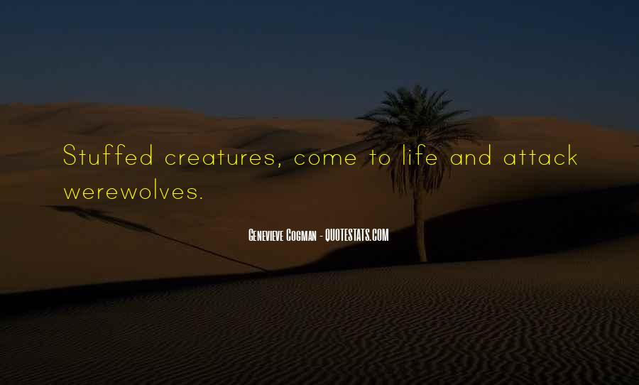 Quotes About Werewolves #310839
