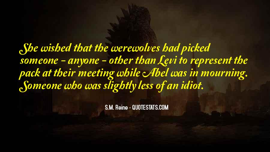 Quotes About Werewolves #324523