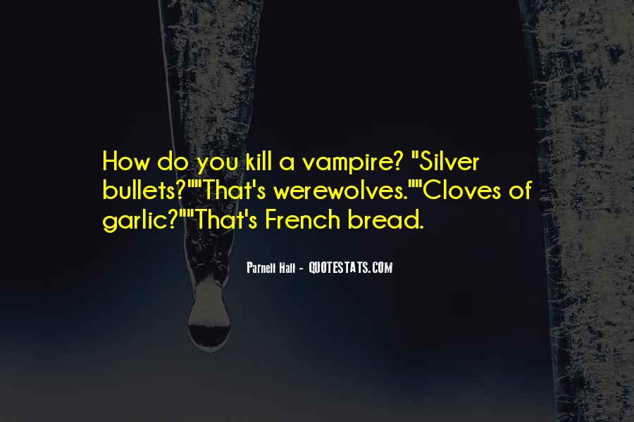 Quotes About Werewolves #334845