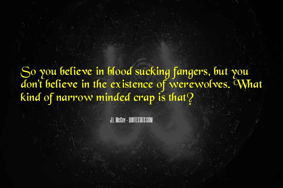 Quotes About Werewolves #38921