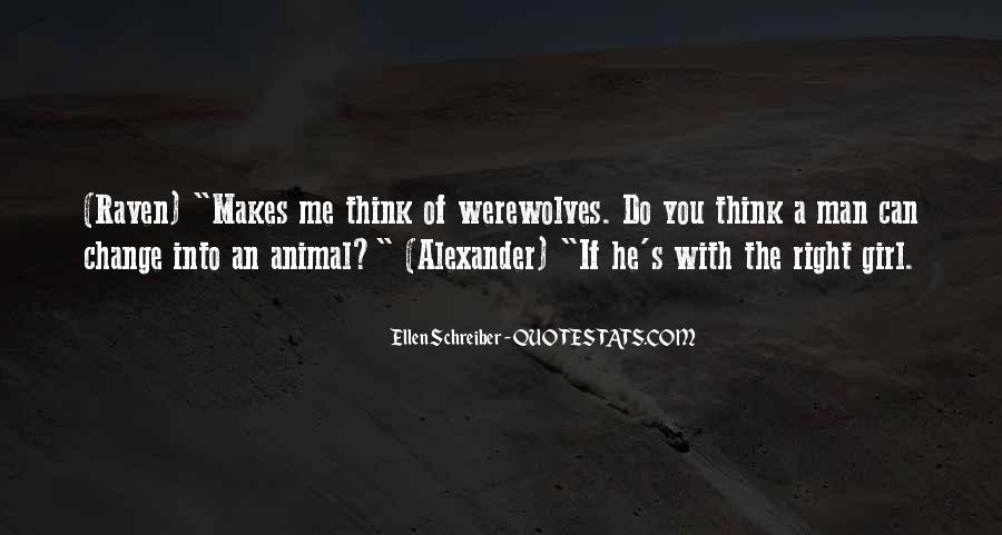 Quotes About Werewolves #83318