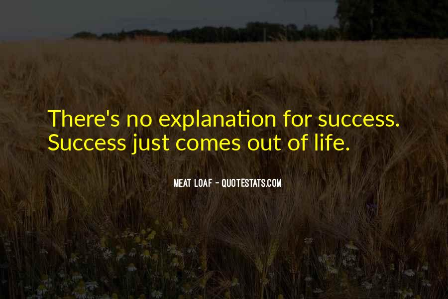 Quotes About Success With Explanation #1808971